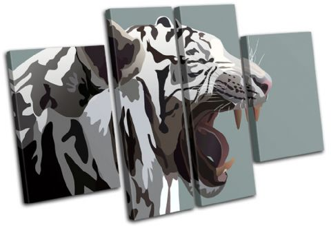 White Tiger Animals - 13-1885(00B)-MP17-LO
